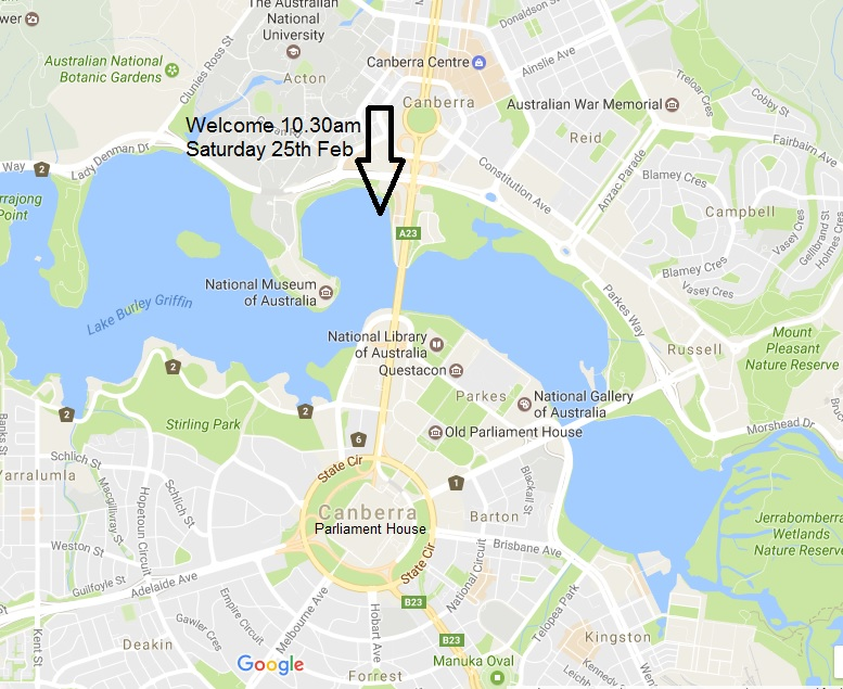 Canberra Welcome